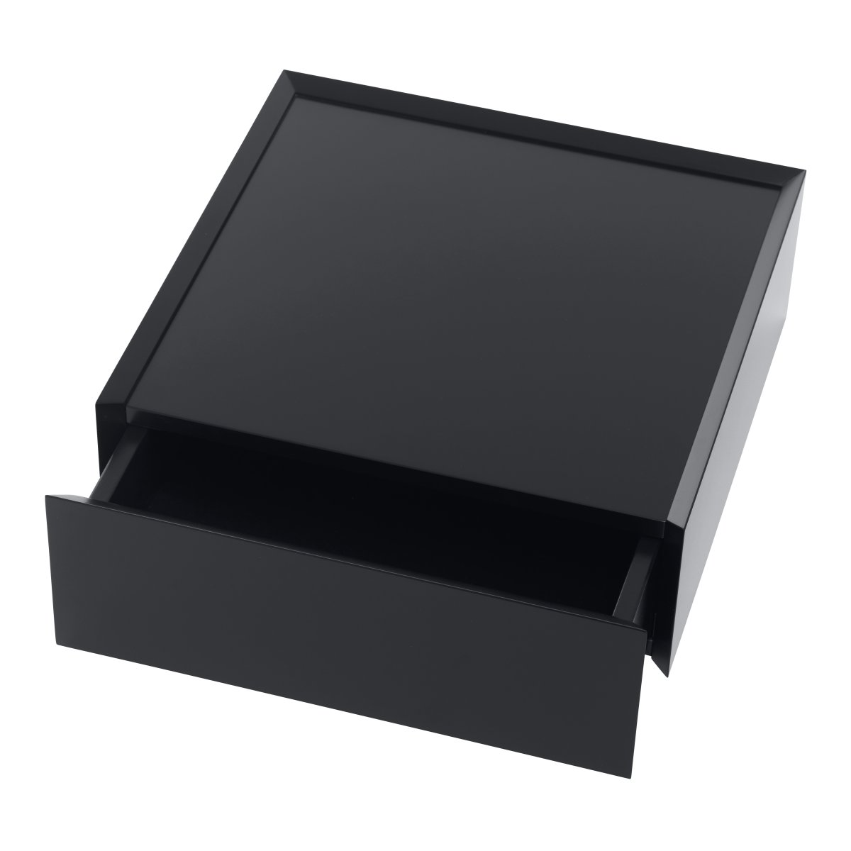 SOUVENIR Schubkastenbox groß schwarz (46), geöffnet