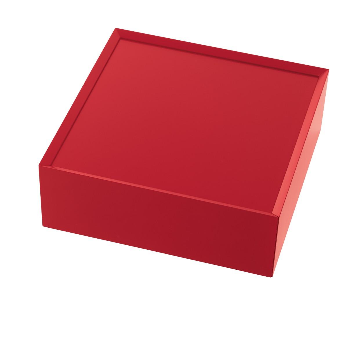 SOUVENIR Schubkastenbox groß tomatenrot (47), geschlossen