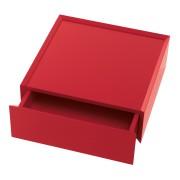 SOUVENIR Schubkastenbox 35 cm tomatenrot (47)