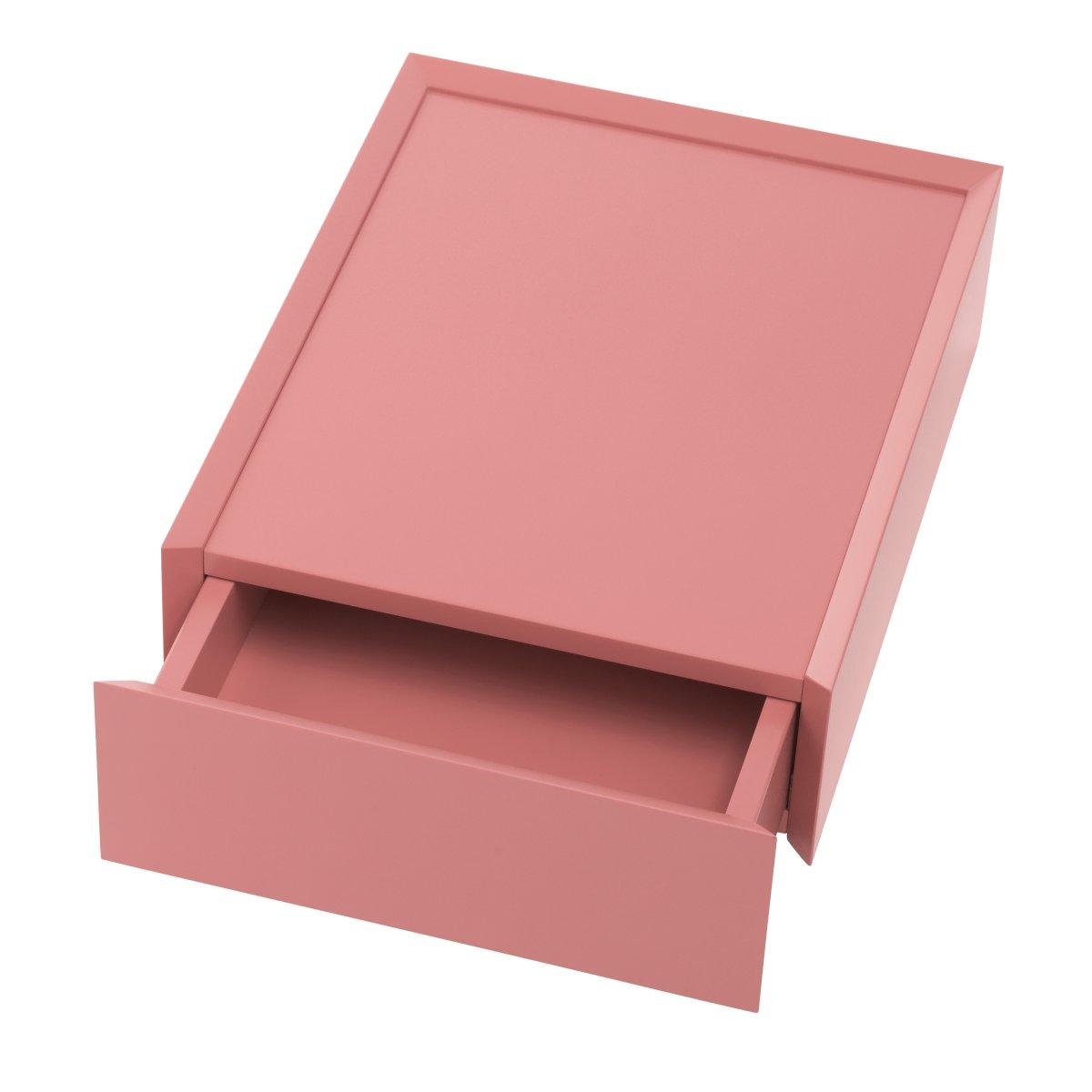 SOUVENIR Schubkastenbox klein flamingo pink (38), geöffnet