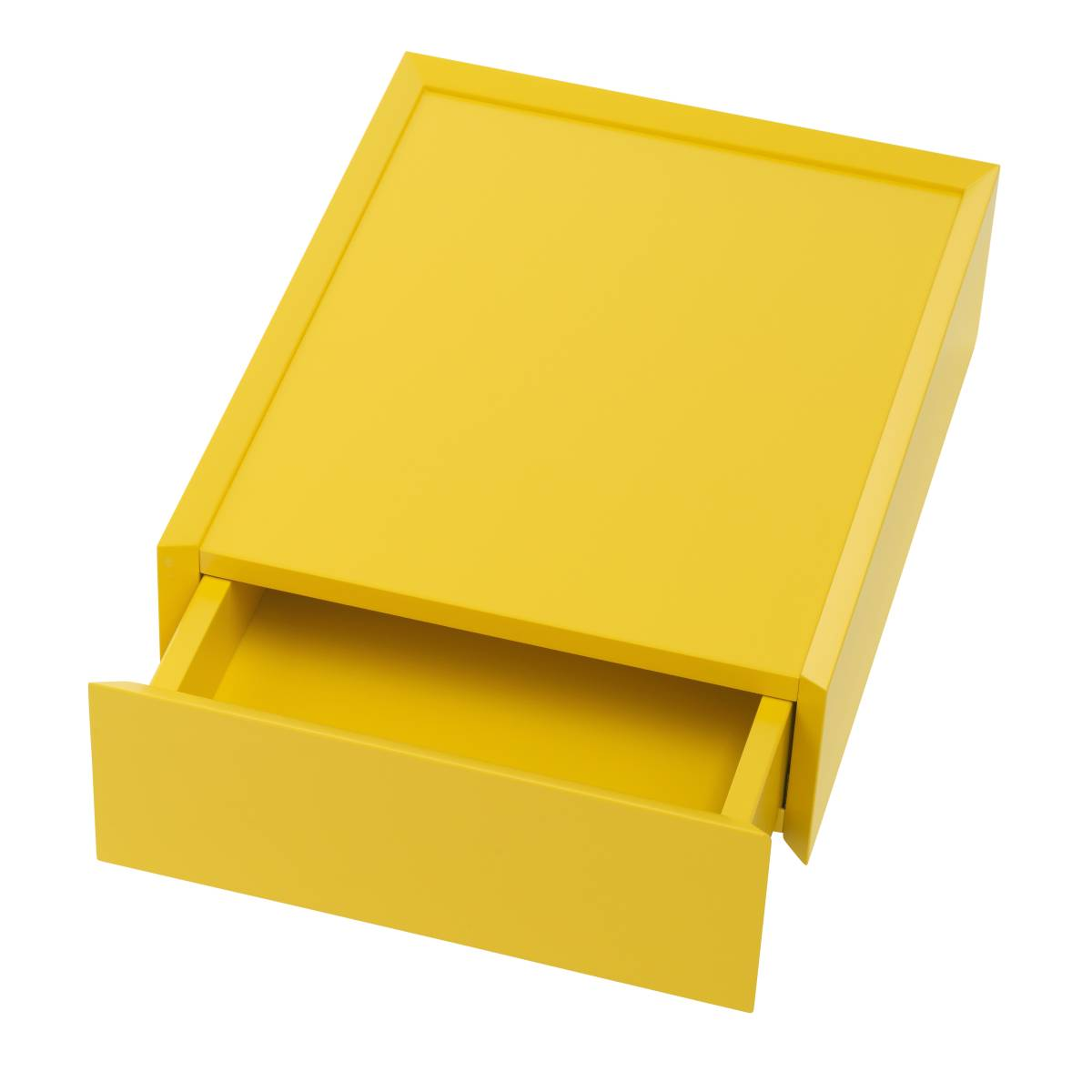 SOUVENIR Schubkastenbox klein zitrusgelb (69), geöffnet