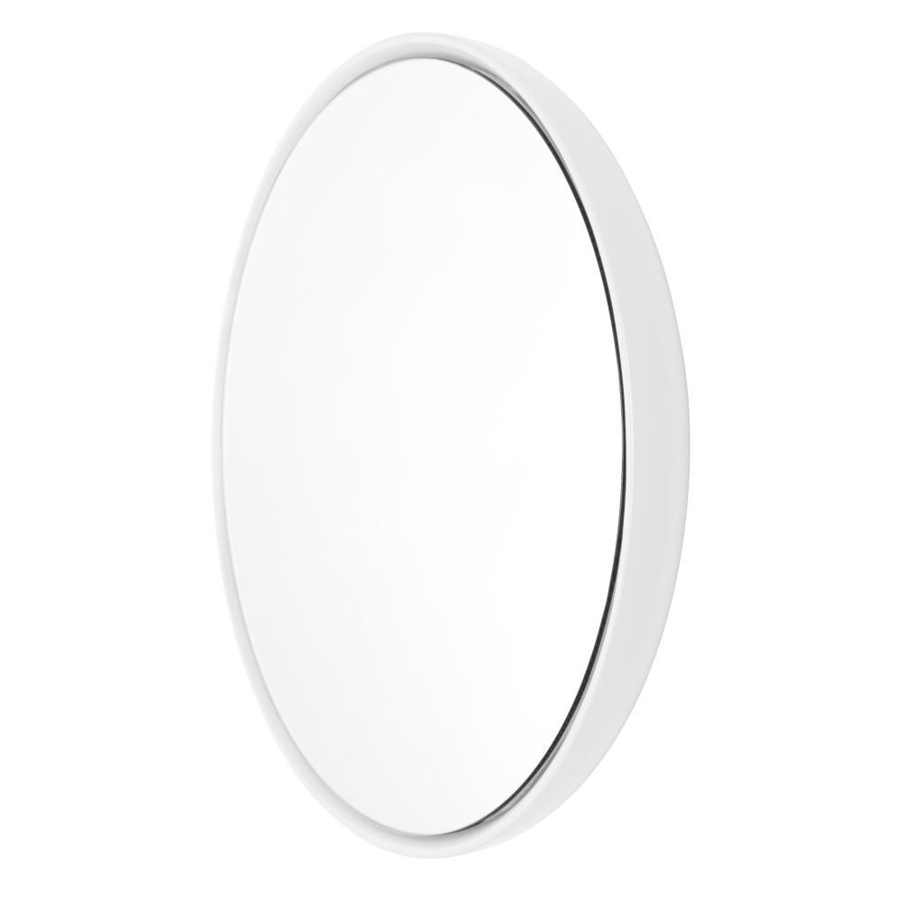 BUBBLE Spiegel 42 cm Keramikglasur cloud (weiß)