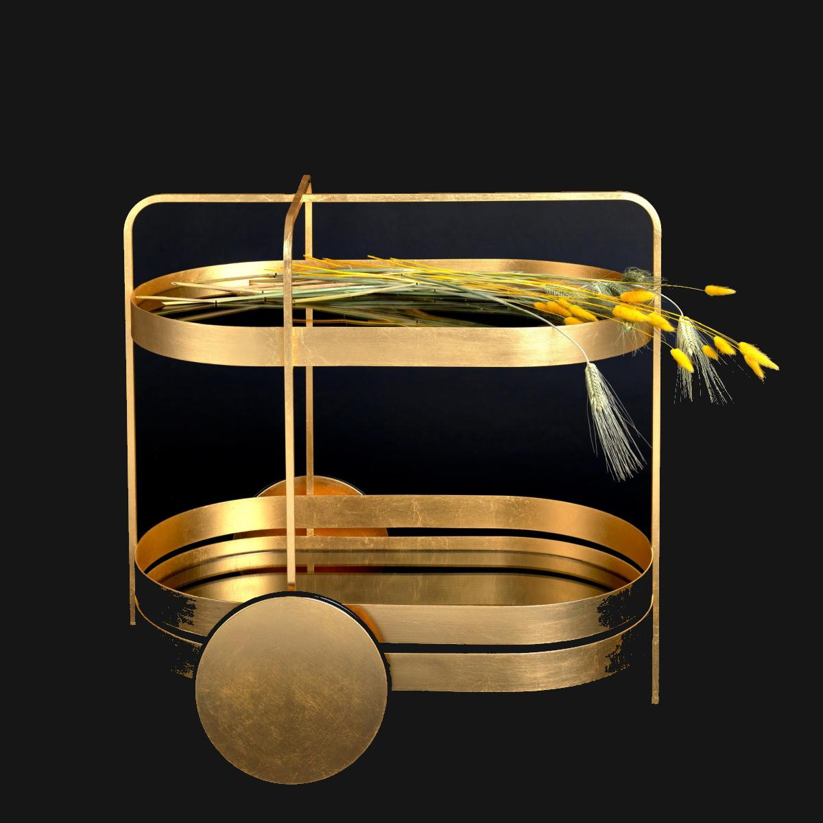 GRACE Servierwagen Gold Edition