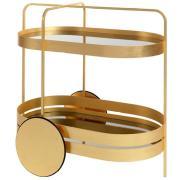 GRACE Servierwagen Gold Edition, Marke schönbuch, Designer Sebastian Herkner