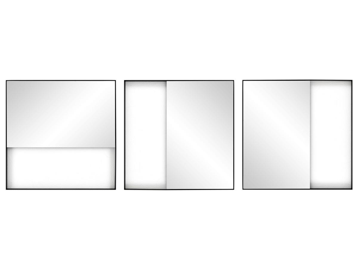 GEO Wandspiegel Rechteck Aufhängmöglichkeiten