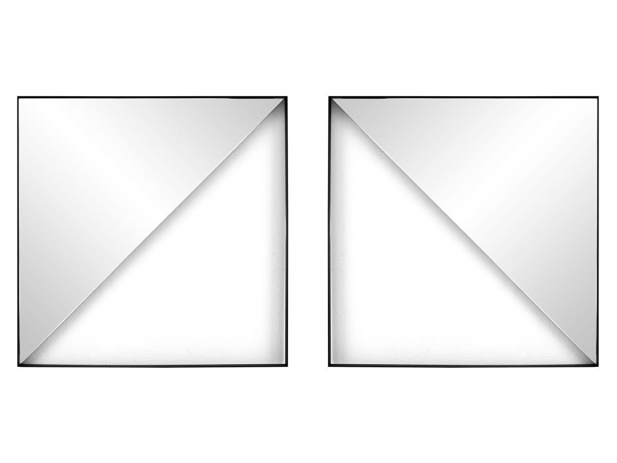 GEO Wandspiegel Dreieck, Aufhängmöglichkeiten