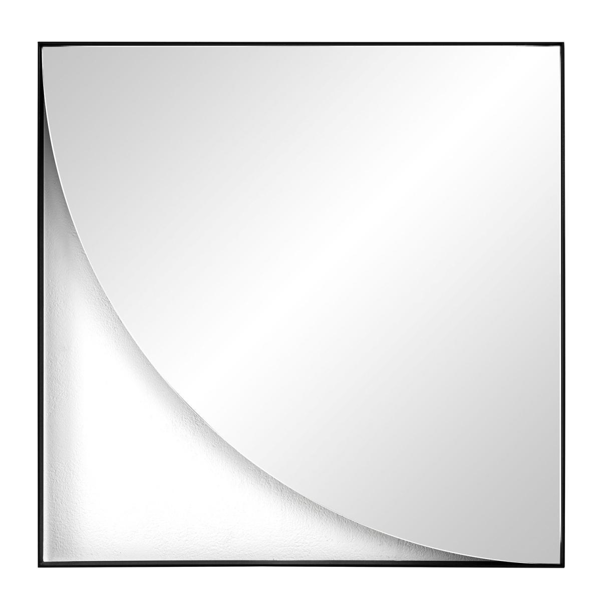 GEO Wandspiegel Viertelkreis