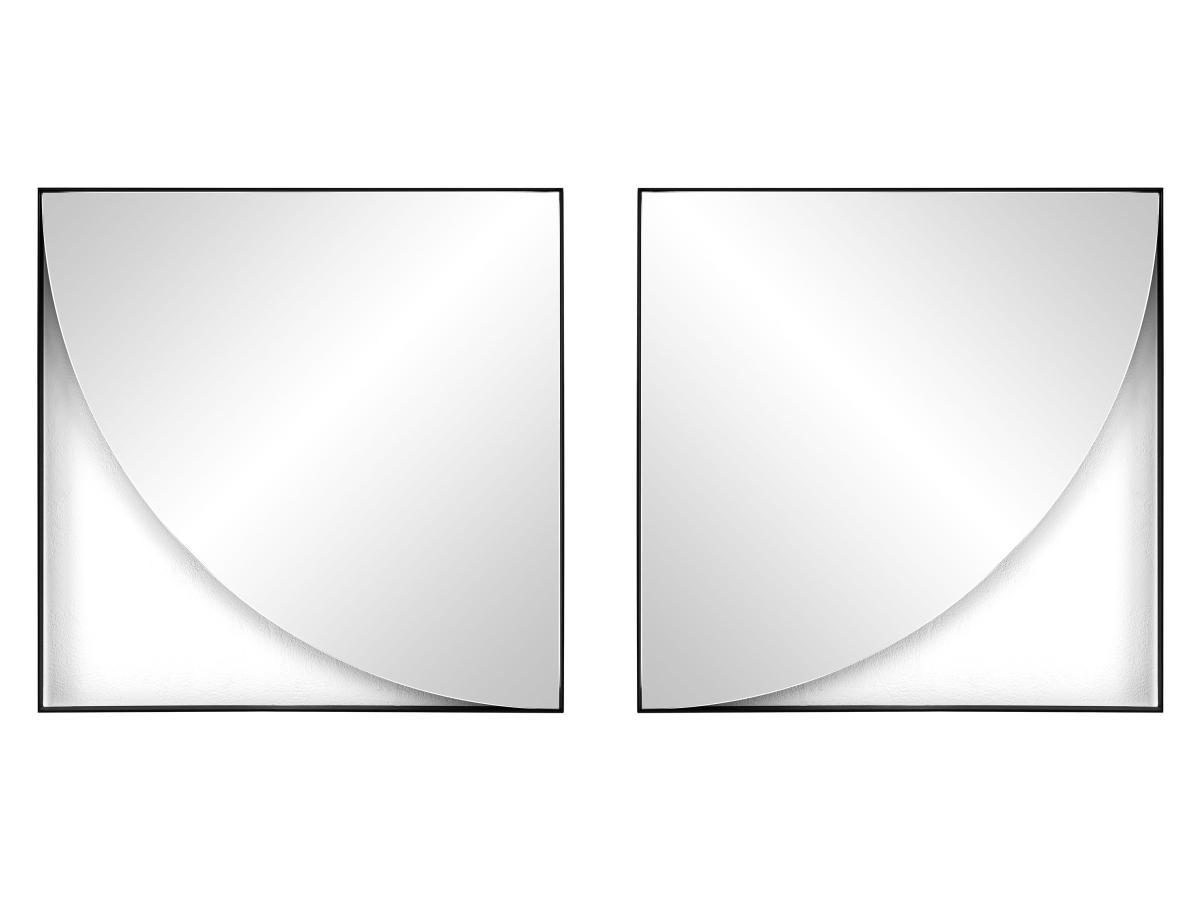GEO Wandspiegel Viertelkreis, Aufhängmöglichkeiten
