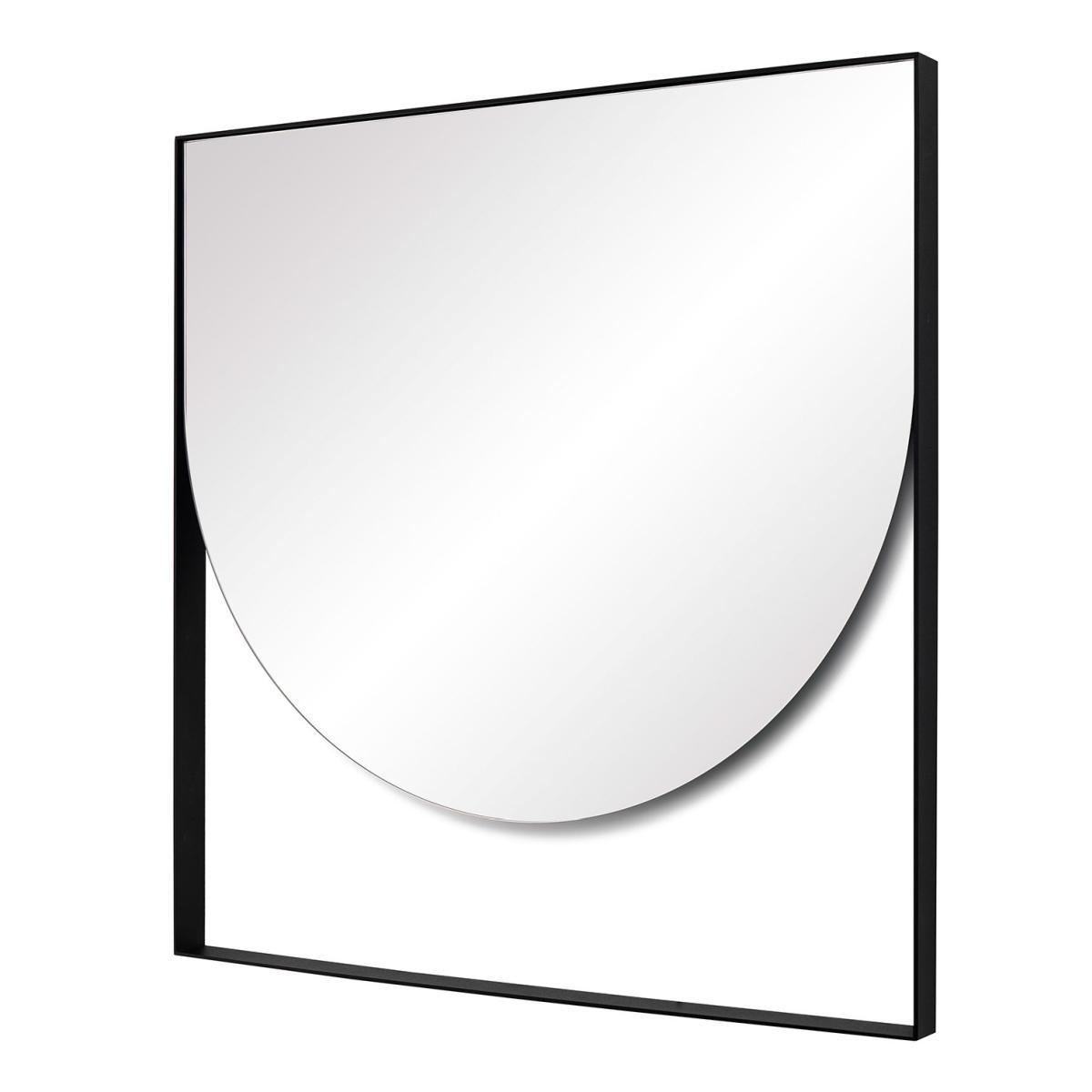 GEO Wandspiegel Halboval, Seitenansicht