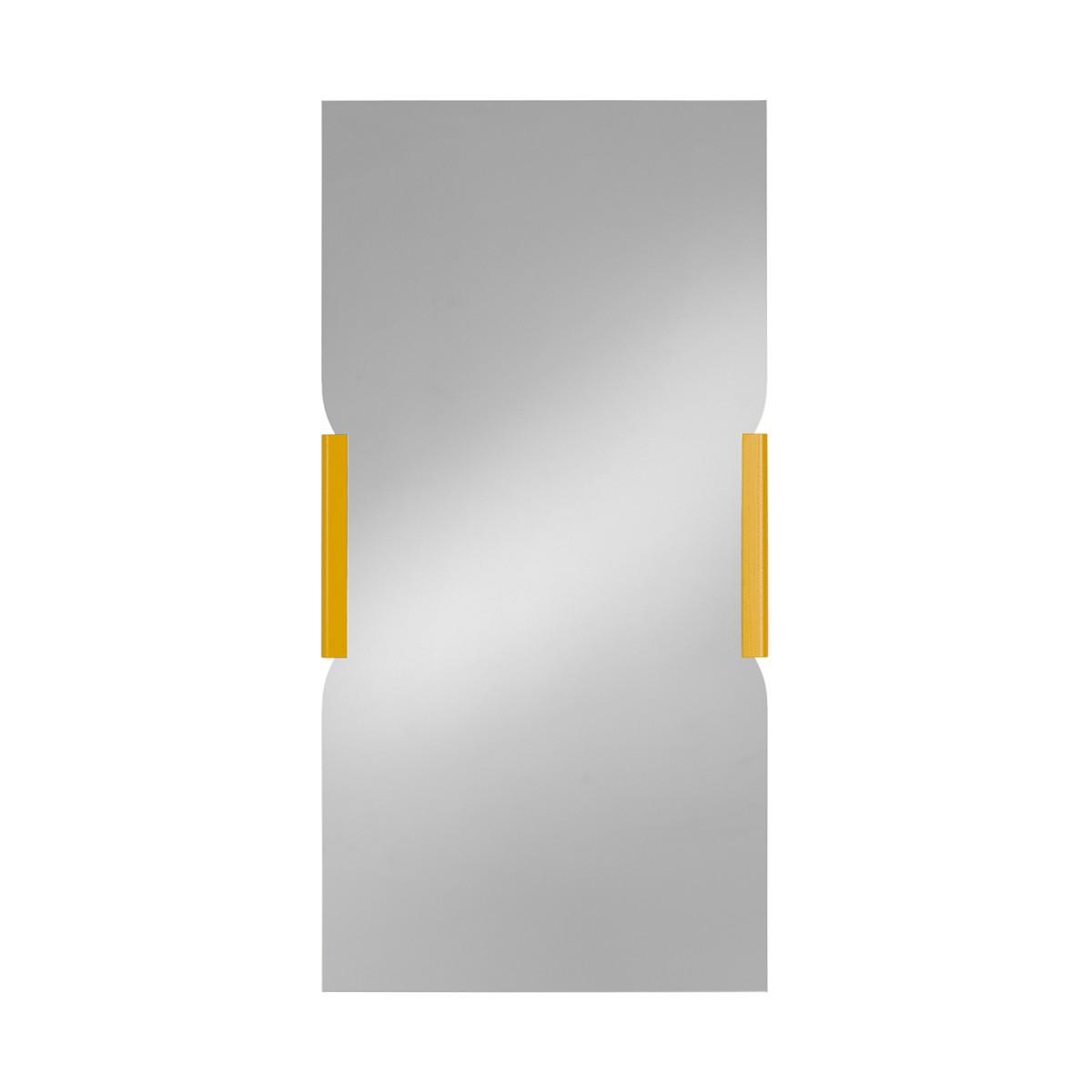 BRACE Wandspiegel Höhe 100 cm Eiche natur