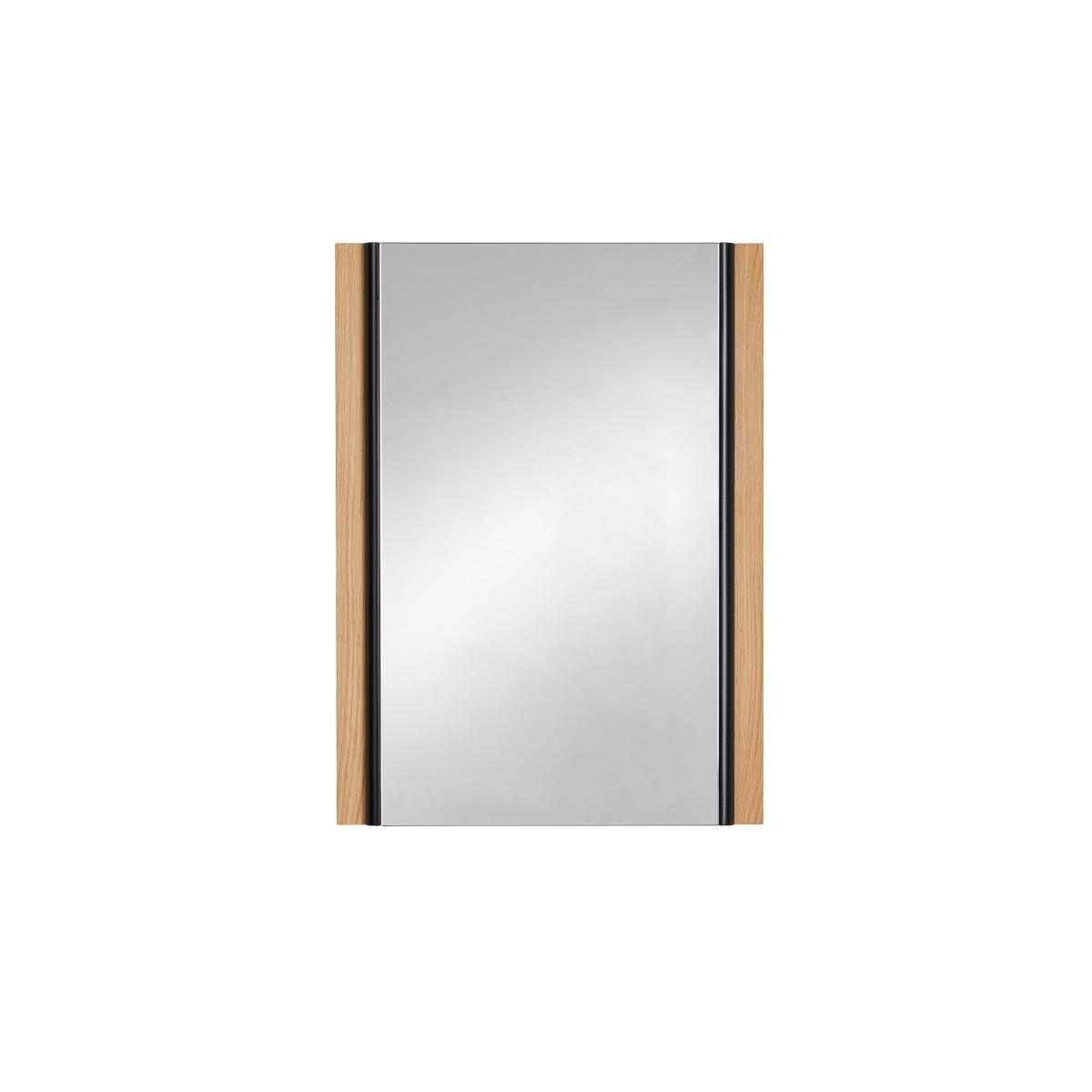 KORO Wandspiegel 44x60 cm, Außenleiste Eiche natur