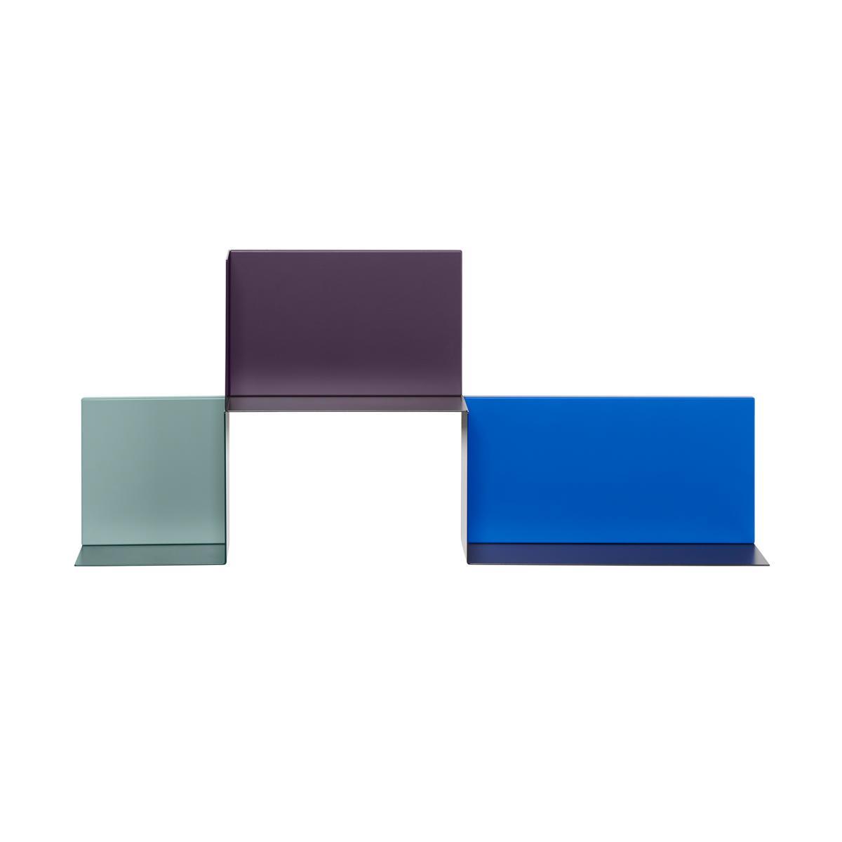DADO Regal in 3 verschiedenen Größen, Ablagen schwarz
