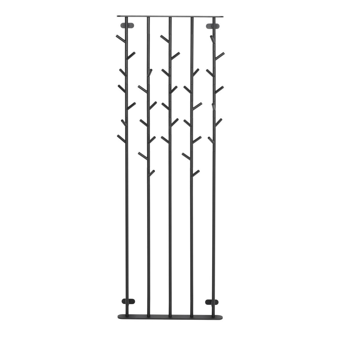 SUMI Wandgarderobe 65 cm breit, schwarz