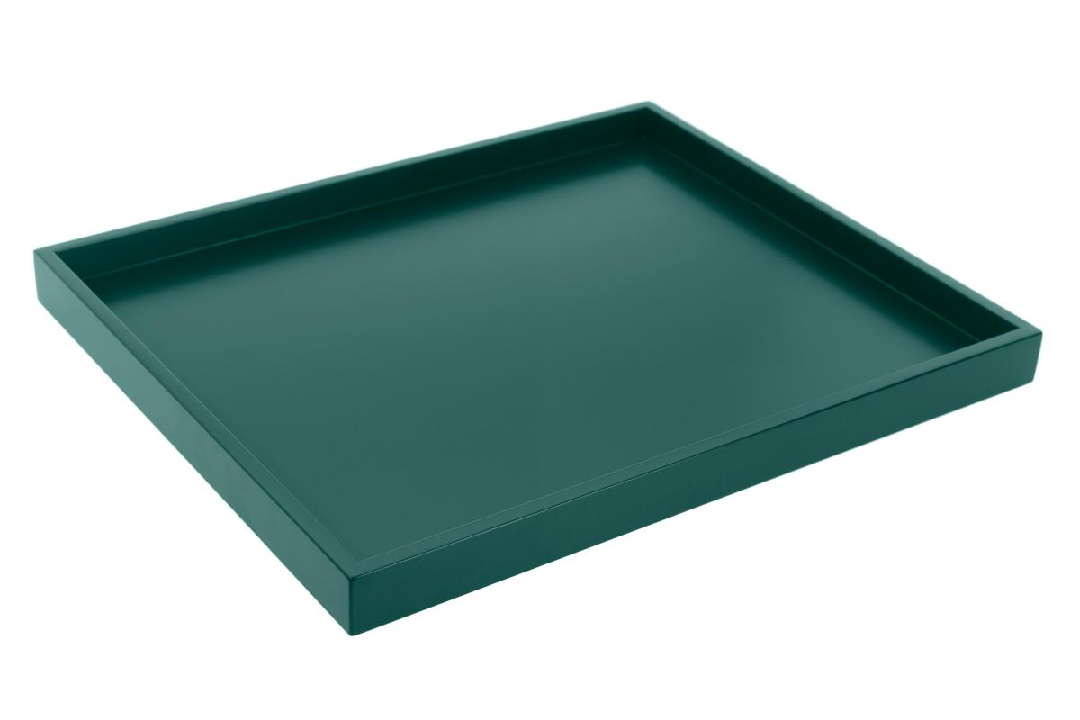 TRAY Little Tablett smaragd grün (42)
