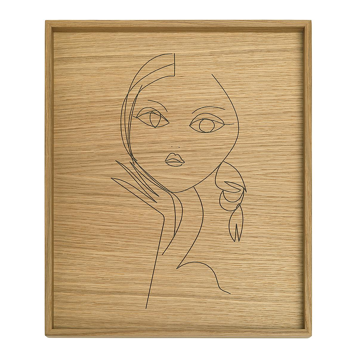 TRAY LITTLE Tablett Art Edition