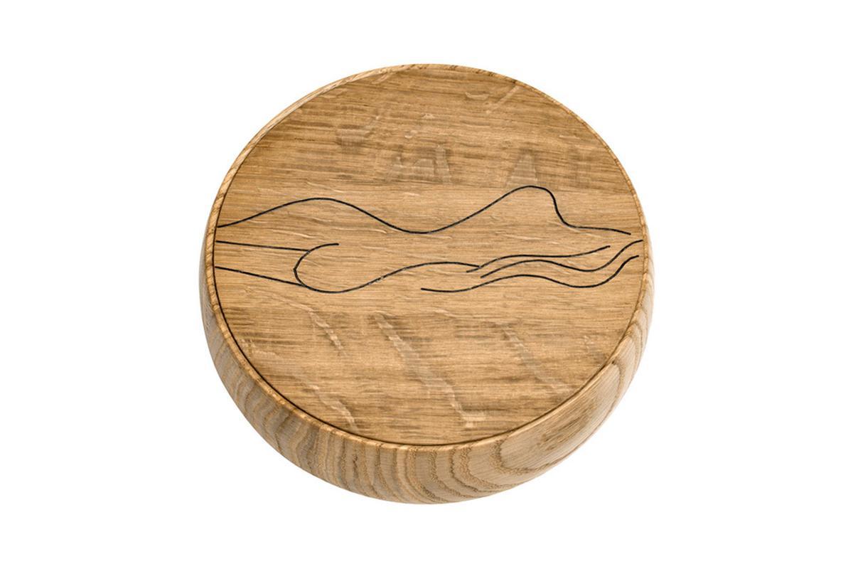 BOWL Holzdose mit Deckel Irma groß