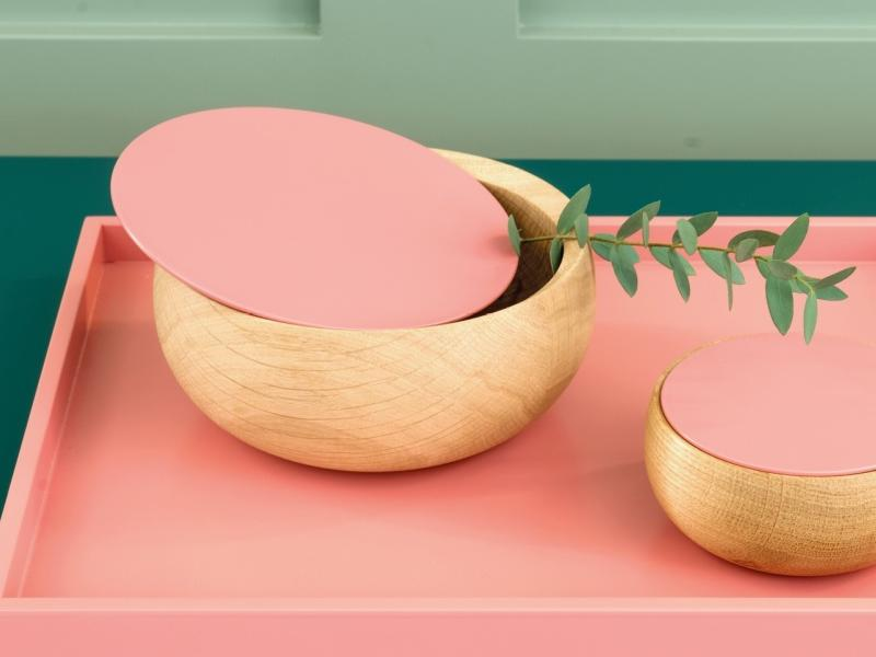 BOWL Holzdose mit Deckel Edition Milan