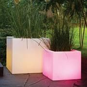 CUBOTTI Pflanzkübel LED beleuchtet