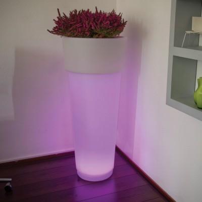 MarcAntonio 90 LED-Pflanzgefäß beleuchtet