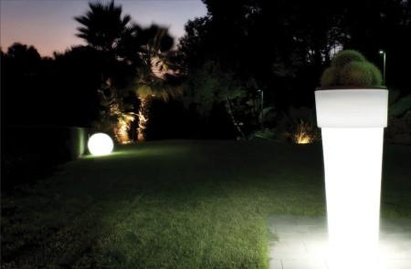 MARCANTONIO LED-Pflanzgefäß beleuchtet
