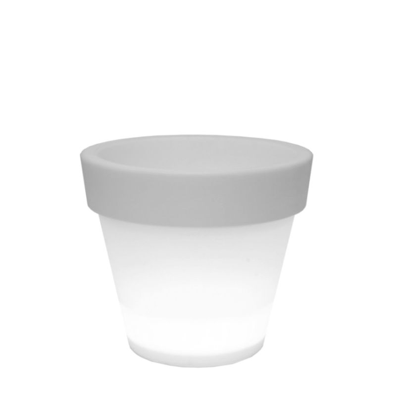 BORDATO beleuchteter LED-Blumentopf von serralunga 1825 bei homeform.de