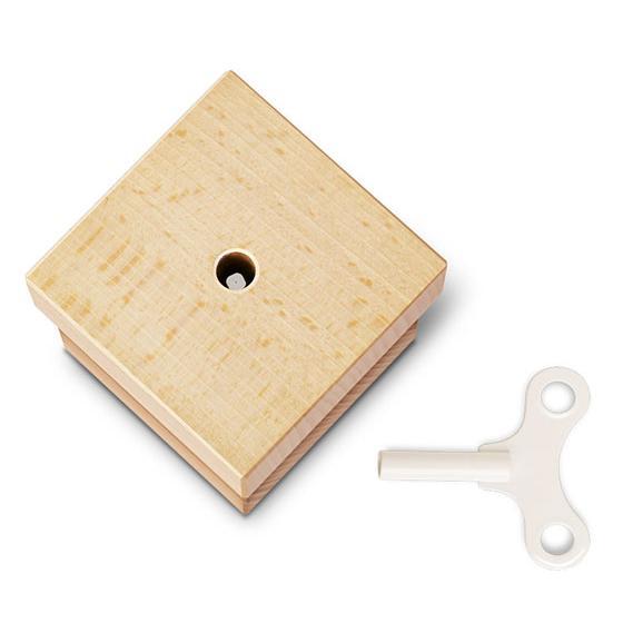 MUSICBOX Spieluhr Johann Strauß, Buche natur