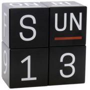 UPDATE Würfelkalender Global Buche schwarz
