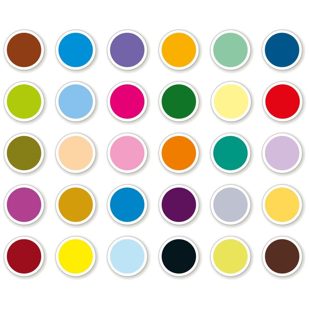COLOURCOUPLE Memo-Spiel 60 Spielkarten, Motiv Farben