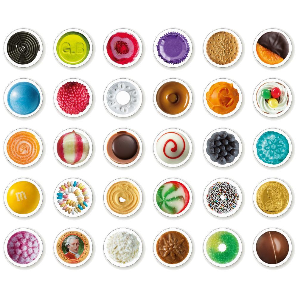 SWEETSWEETS Memo-Spiel 60 Spielkarten, Motiv Süßigkeiten