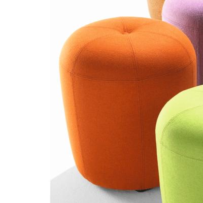 ZAPALLO Hocker / Pouf Wollfilz Lana orange