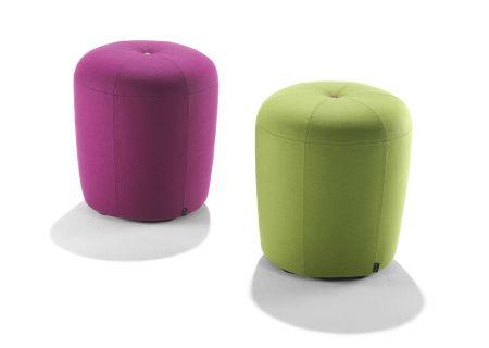 Stoffmuster für Zapallo, pink und grün