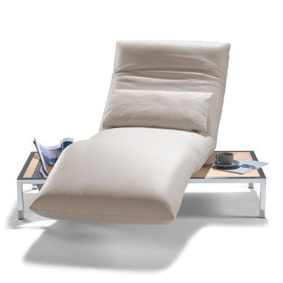 SAMBA Liege mit Tischfuß und Zeitschriftennetz