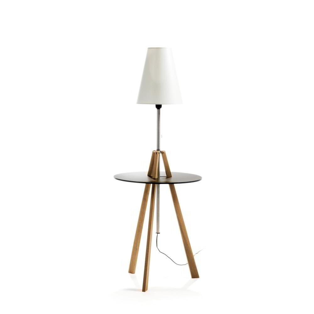 st triss beistelltisch mit leuchte von signet bei. Black Bedroom Furniture Sets. Home Design Ideas