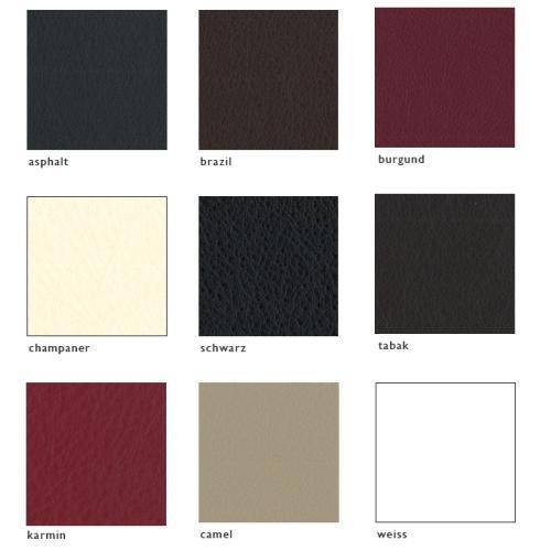 Farben der Ledergruppe Colrado