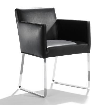 JASPE Stuhl mit Armlehne Bezug nach Kundenwunsch
