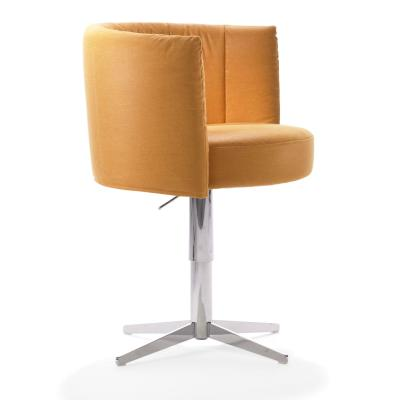 RON Sessel, drehbar, höhenverstellbar, Stoff MONA mais