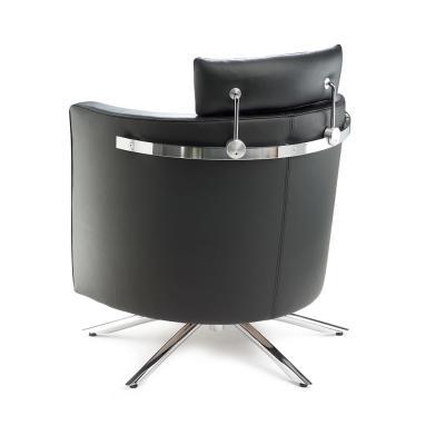 VITO Sessel Leder, mit Kopfstütze, Seitlich