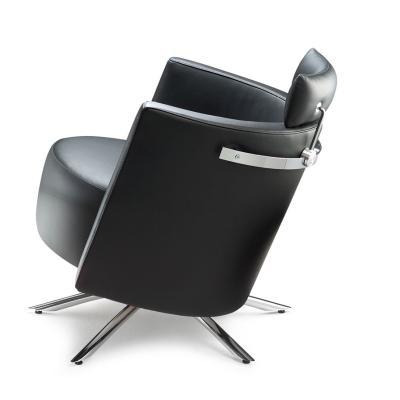 VITO Sessel Leder, mit Kopfstütze, kippbar