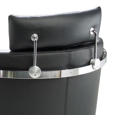 VITO Sessel Leder, Detail Kopfstütze