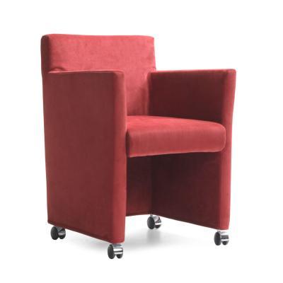 RICK Stuhlsessel mit Armlehnen, Ausführung nach Kundenwunsch