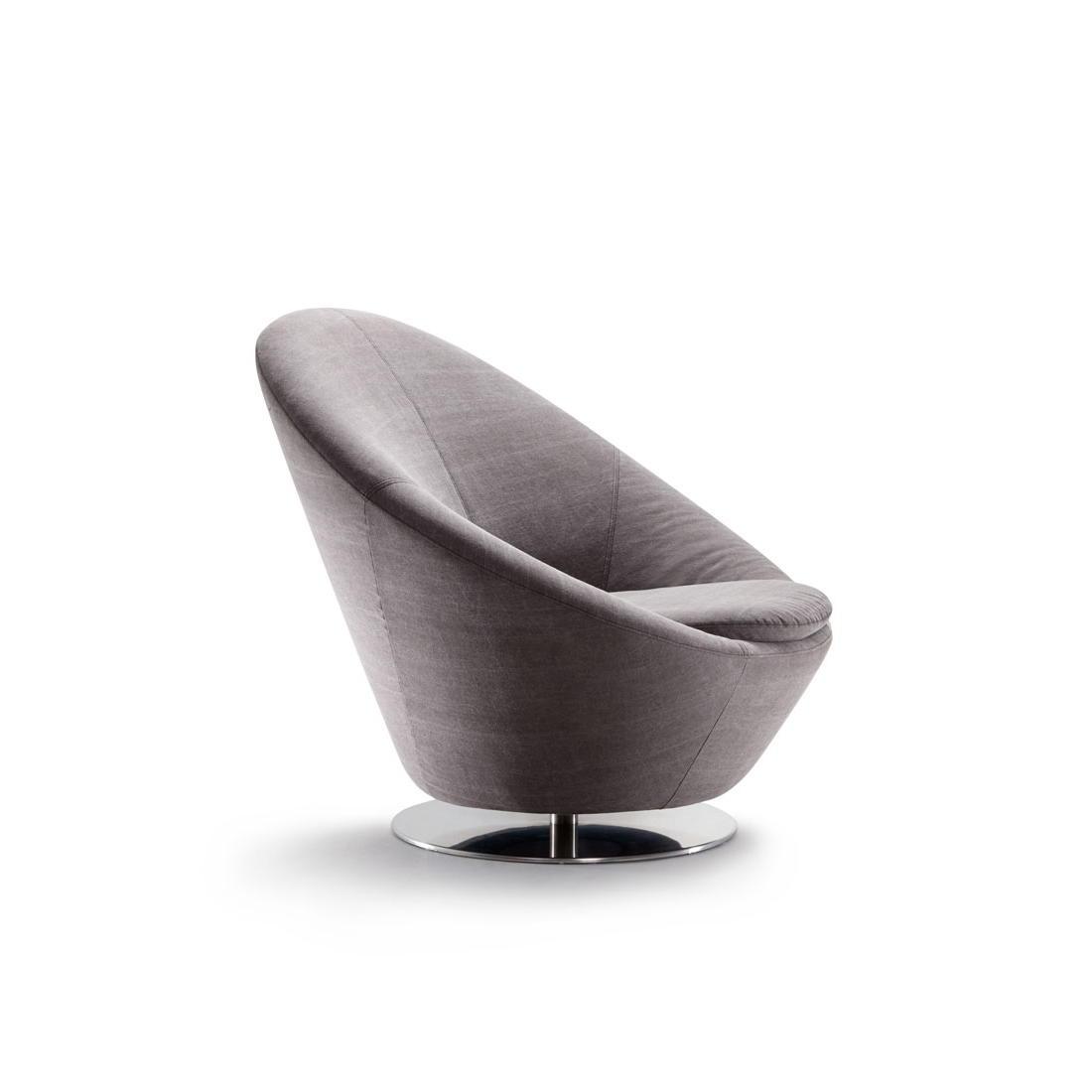 BIG EASY Sessel, drehbar, Seitenansicht