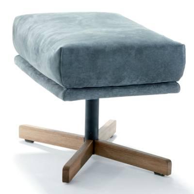 GIN Hocker mit Holzgestell, Ausführung nach Kundenwunsch