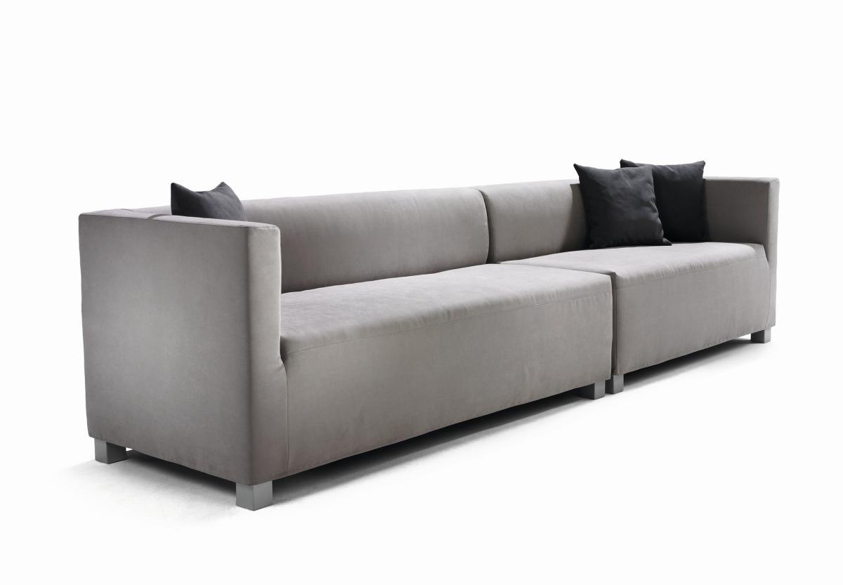 BLUES Sofa 180 und 120 cm nebeneinander gestellt