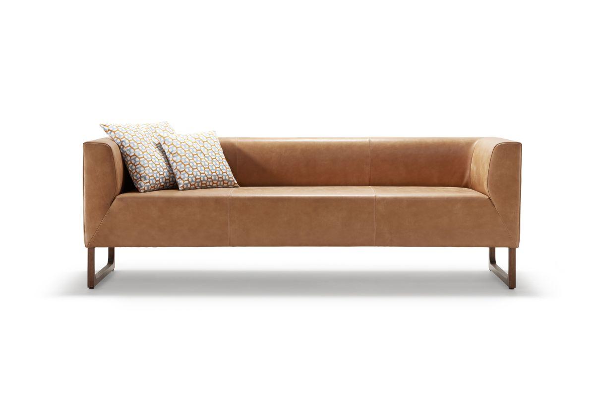 BLUE CITY Sofa mit Anbaurücken (Armlehne bis Anfang Sitzfläche)