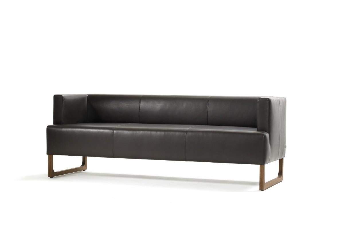BLUE CITY Sofa mit 2 Armlehnen (Standard, nach hinten versetzt)