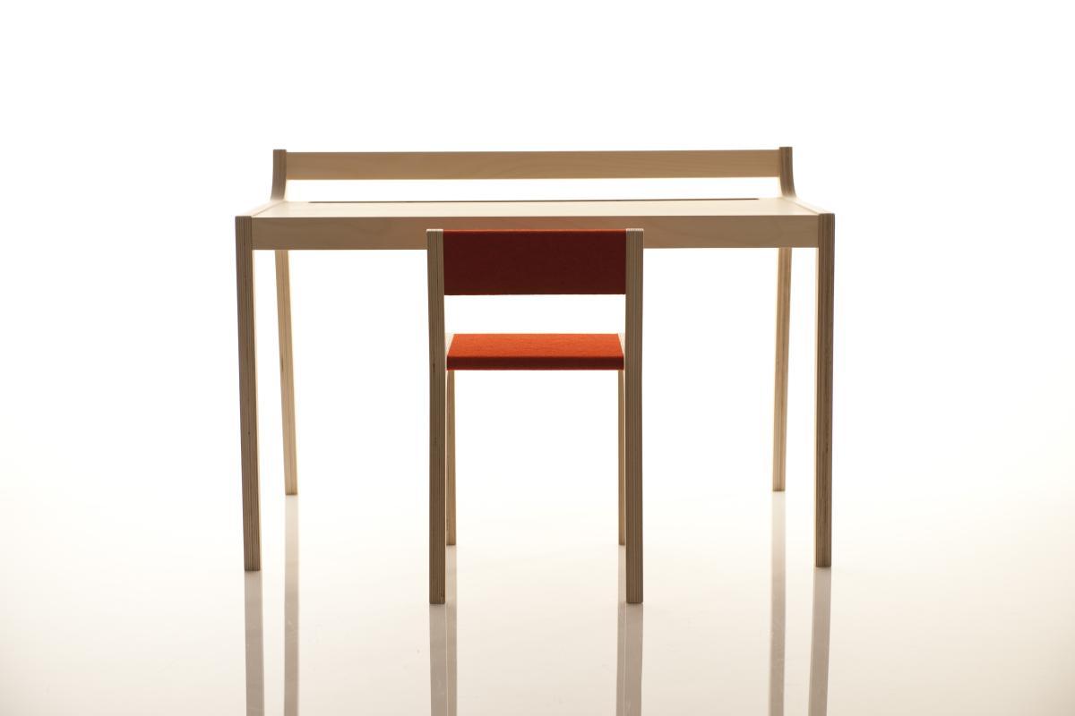 Sibis Afra Kindertisch mit Stuhl Sepp