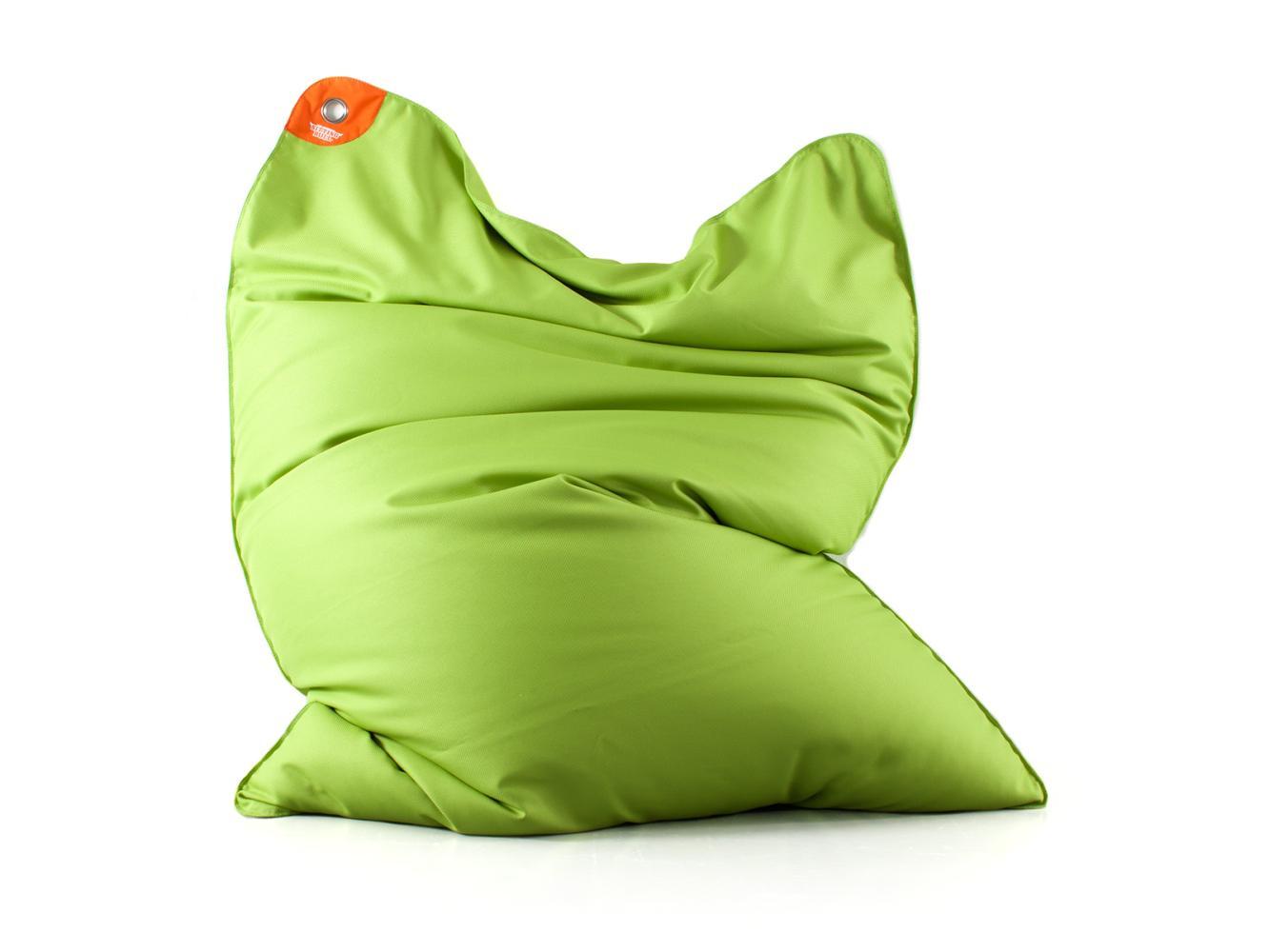 POOL BULL schwimmender Sitzsack grün