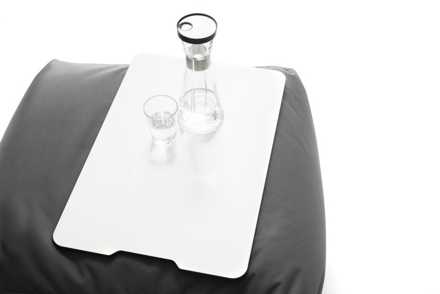 Sitting Bull ZIPP Tablett, 60 x 40 cm, weiß