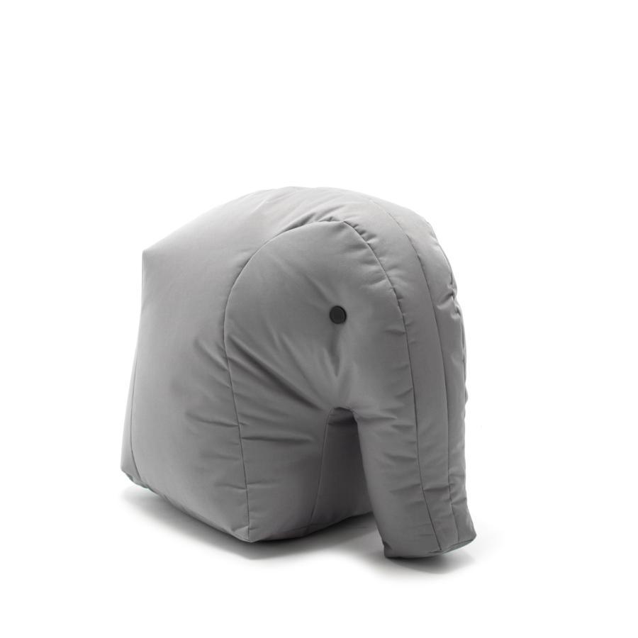 Elefant CARL Kindersitzsack aus Happy Zoo, hellgrau