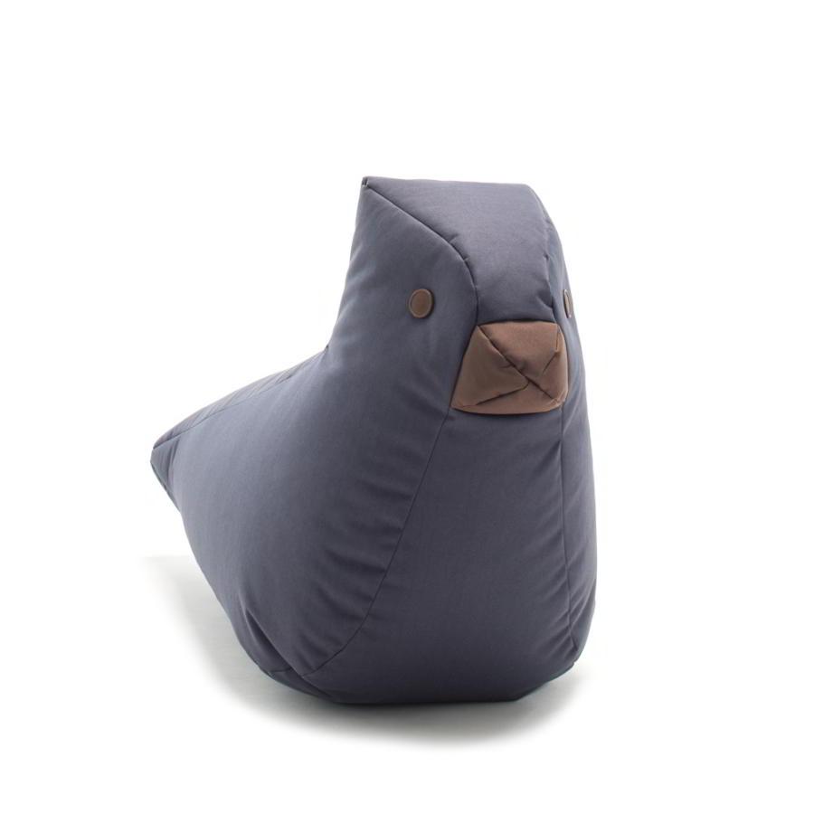 Vogel FINE Kindersitzsack aus Happy Zoo, anthrazit